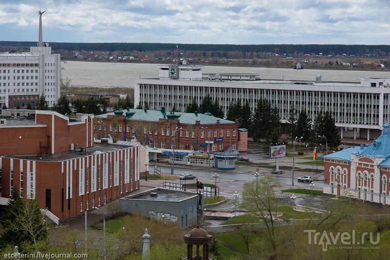 Здание администрации Томской области, Россия / Фото из России