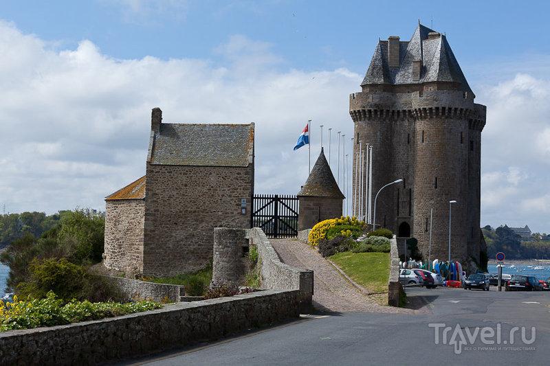 Квартал Сен-Серван (Saint-Servan) в Сен-Мало, Франция / Фото из Франции