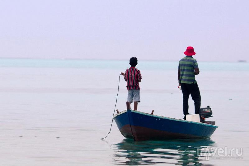 На острове Маафуши / Фото с Мальдив