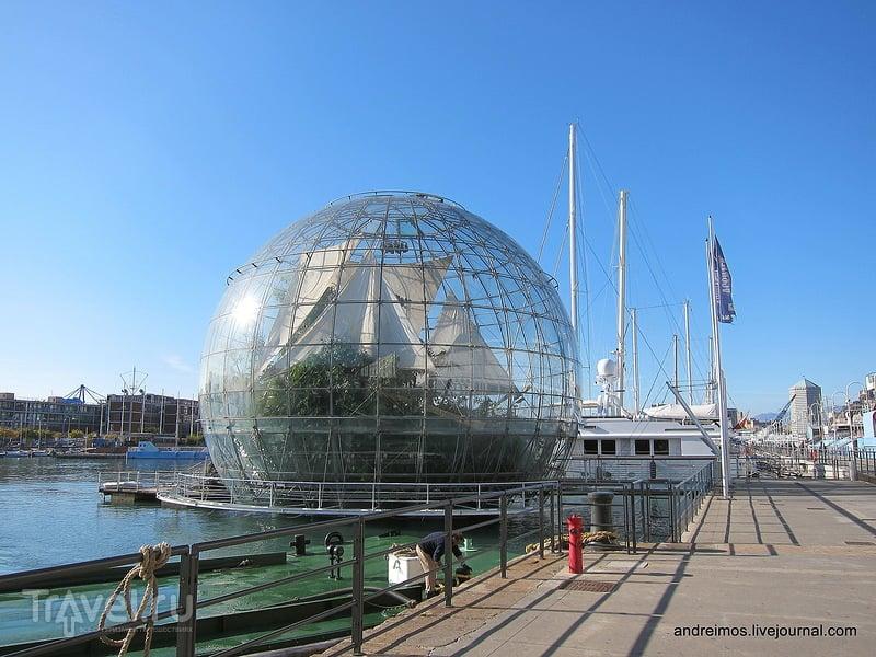Биосфера (Biosfera) в Генуе, Италия / Фото из Италии