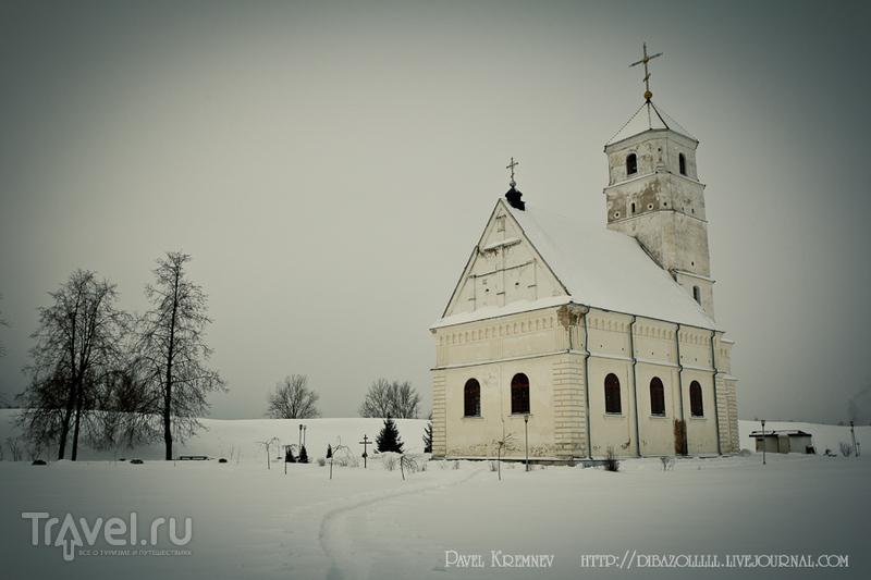 Храм в честь Преображения Господня в Заславле, Белоруссия / Фото из Белоруссии