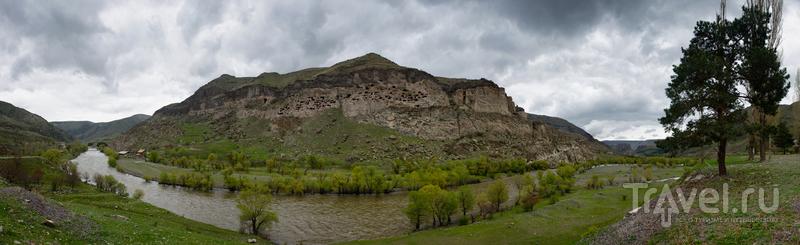 Пещерный монастырь Вардзиа, Грузия / Фото из Грузии