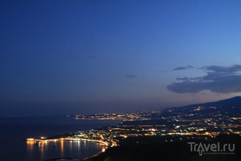 Прогулка по Таормине и бар Turrisi / Италия