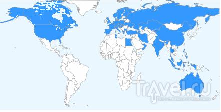 Технологии путешествий. Карты стран и маршрутов