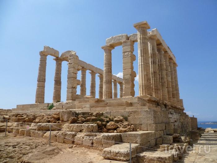 Афины. Мыс Сунион / Греция