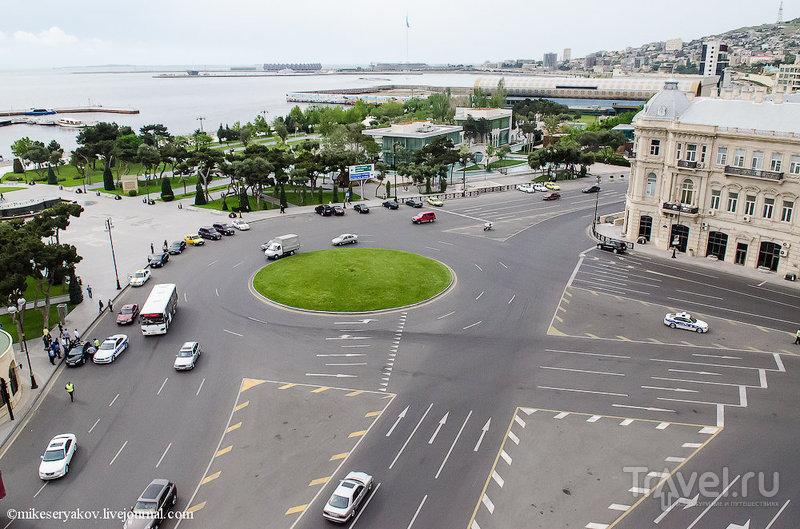 Проспект Нефтяников в Баку, Азербайджан / Фото из Азербайджана