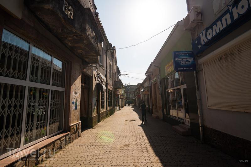 В городе Хуст, Украина / Фото с Украины