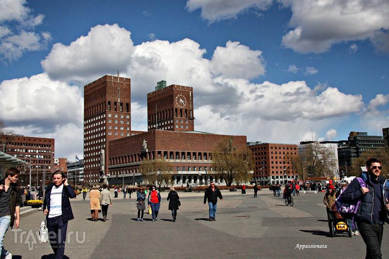 Городская ратуша в Осло, Норвегия / Фото из Норвегии