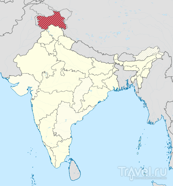 Долина Маркха (Ладакх, Индия) / Фото из Индии