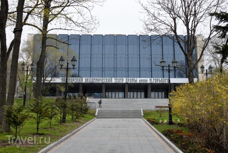 Театральный сквер во Владивостоке, Россия / Фото из России