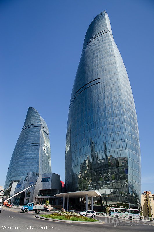 Современный Баку / Фото из Азербайджана