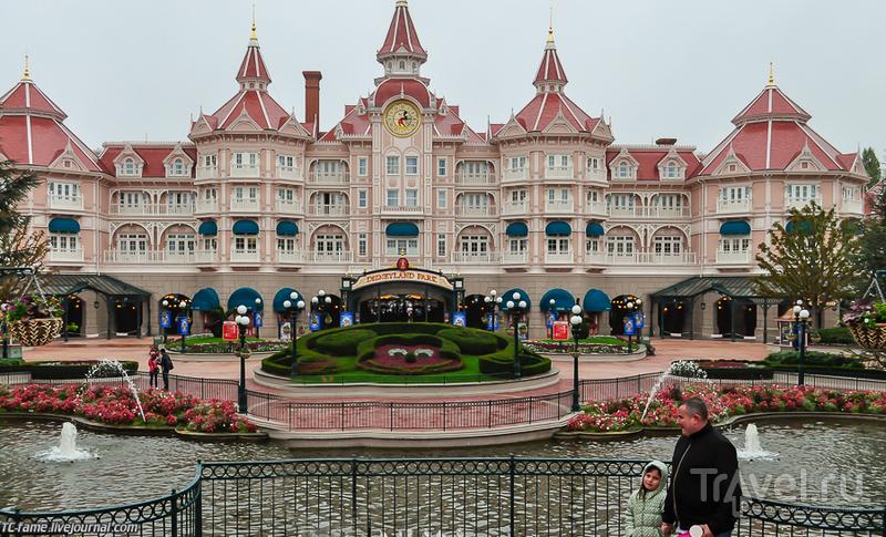 В Disneyland Paris, Франция / Фото из Франции