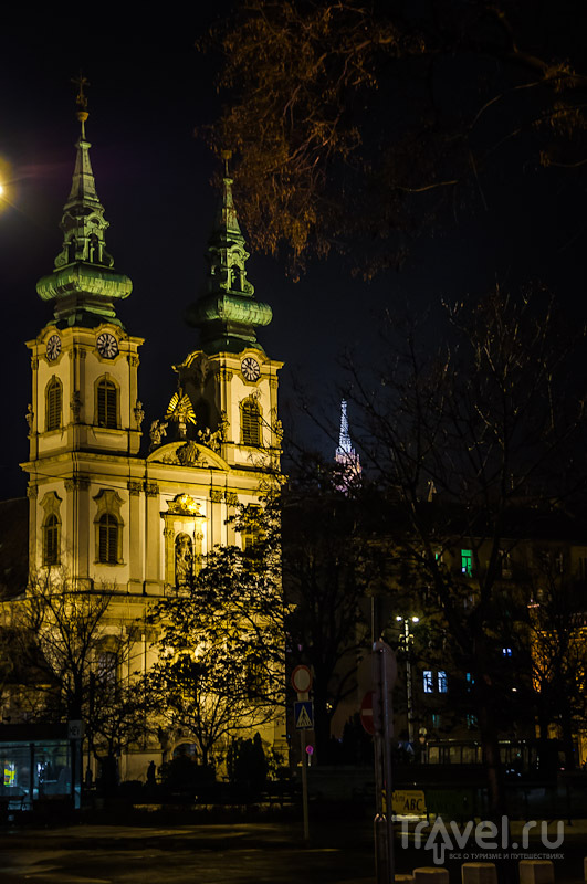 Приходская церковь Святой Анны в Будапеште, Венгрия / Фото из Венгрии