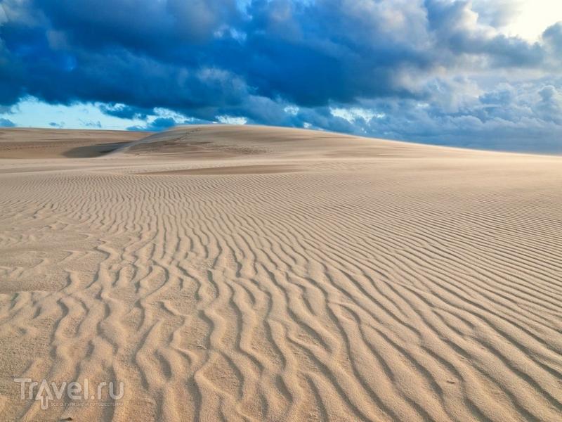 Окруженная водами Атлантического океана и вековыми сосновыми лесами дюна Пила / Франция