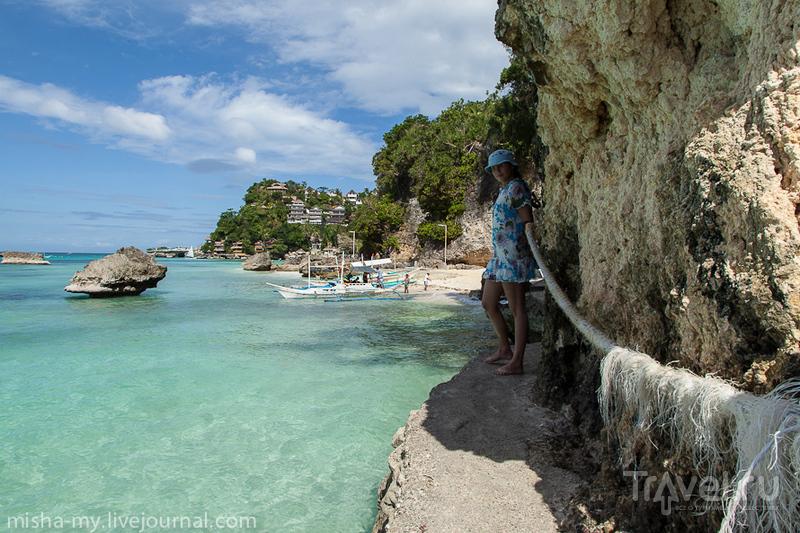 Пляж Diniwid на острове Боракай, Филиппины / Фото с Филиппин
