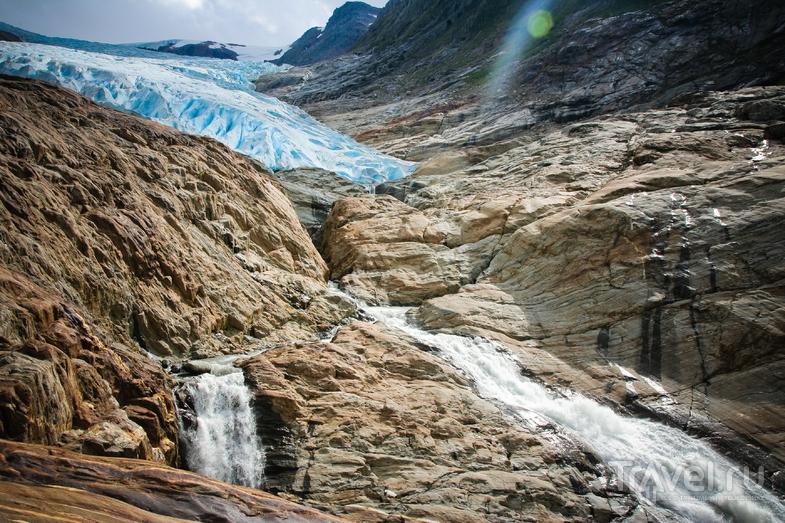 Ледник Svartisen, Норвегия / Фото из Норвегии