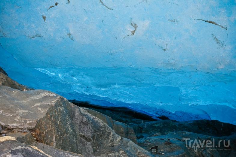 В царстве льда - ледник Svartisen / Фото из Норвегии