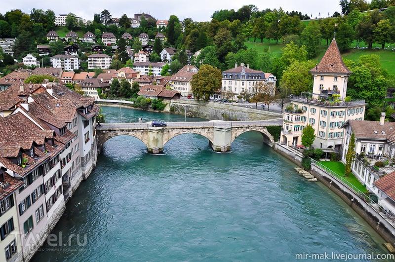 В городе Берн, Швейцария / Фото из Швейцарии