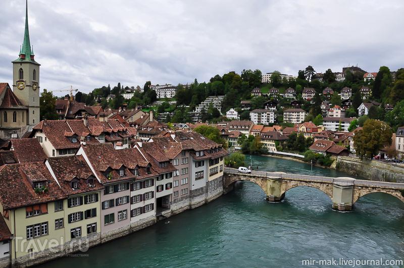 Мост Унтерторбрюке в Берне, Швейцария / Фото из Швейцарии