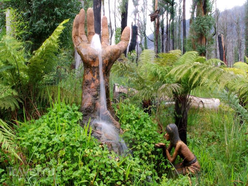 Сад скульптур Бруно Торфса в Австралии - единение идей творца и природных стихий / Австралия