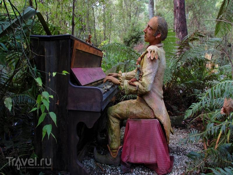 Мифический сад скульптур Бруно Торфса в Австралии / Австралия