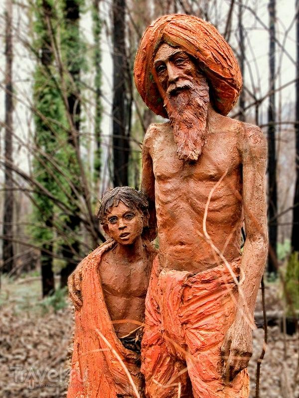 Сад скульптур Бруно Торфса расположен в небольшом городке Мерисвилл, Австралия / Австралия