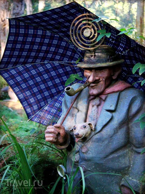 Персонажи сада скульптур Бруно Торфса в Австралии / Австралия