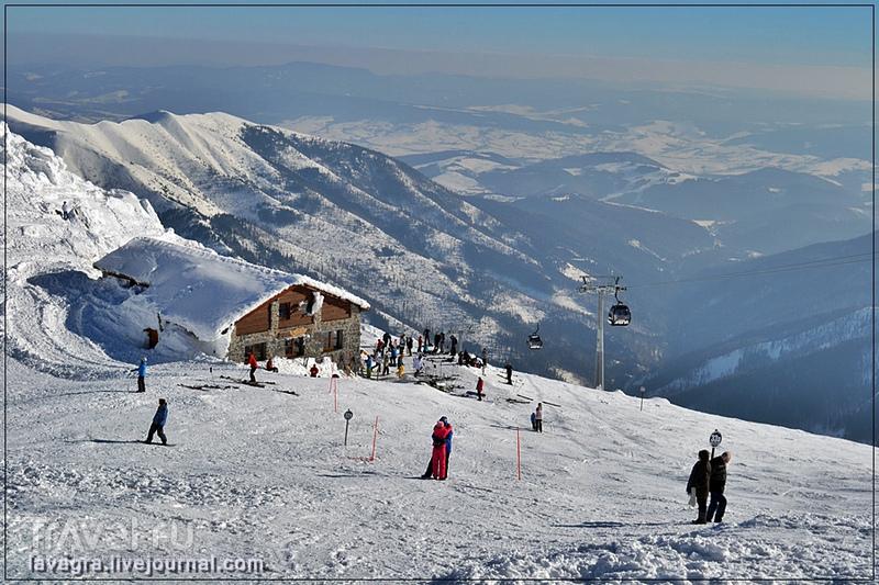 Горнолыжный рай на горе Ясна / Фото из Словакии
