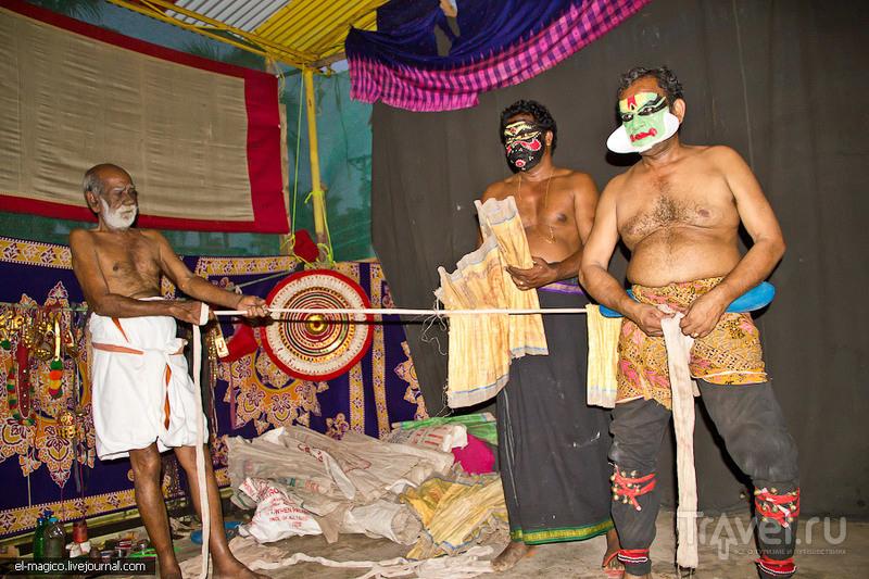 В театре в штате Керала, Индия / Фото из Индии