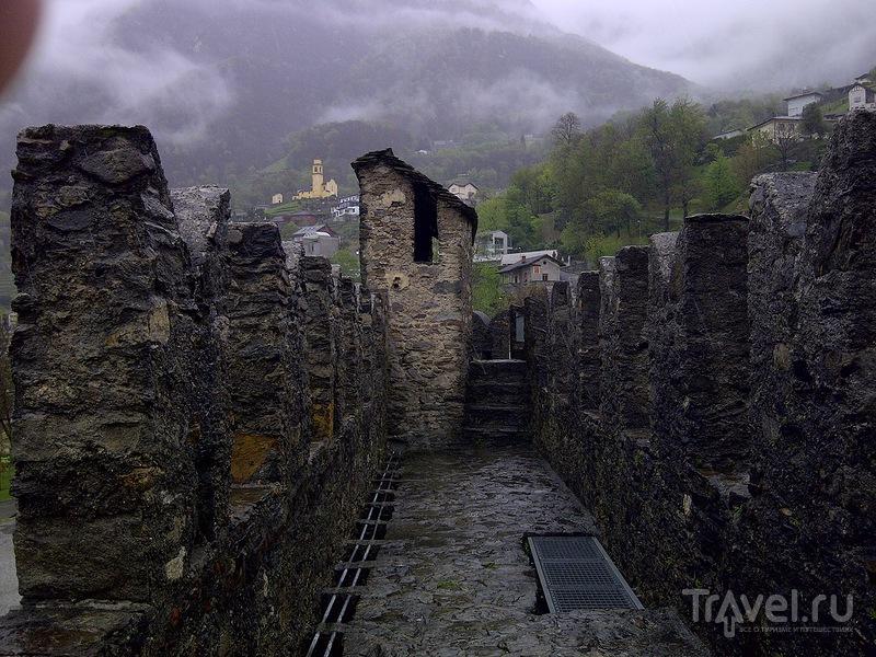 Беллинцона. Крепость Монтебелло / Швейцария