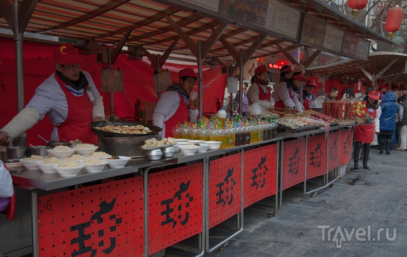 Уличное питание в Пекине. Китай / Китай