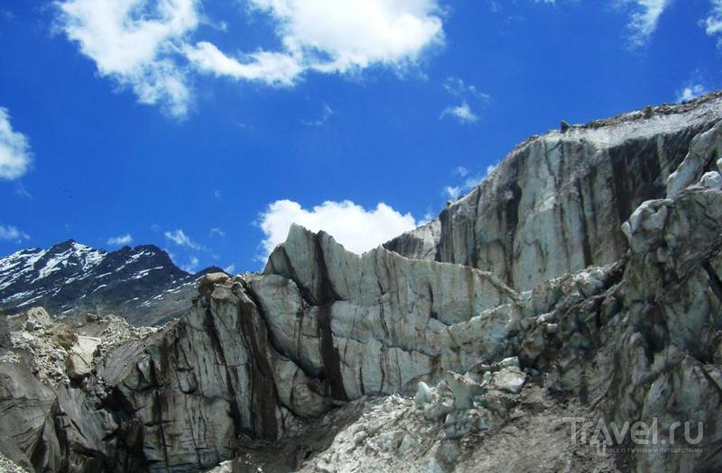 Ледник Ганготри (Индия) / Фото из Индии