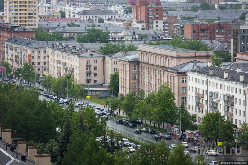 Проспект Ленина в Челябинске, Россия / Фото из России