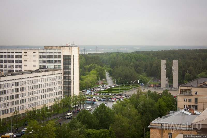 Шершнёвское водохранилище в Челябинске, Россия / Фото из России