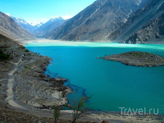 Озеро Сатпара, Пакистан / Фото из Пакистана