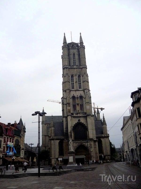 Собор Святого Бавона в Генте, Бельгия / Фото из Бельгии