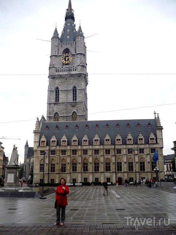 Башня Беффруа в Генте, Бельгия / Фото из Бельгии