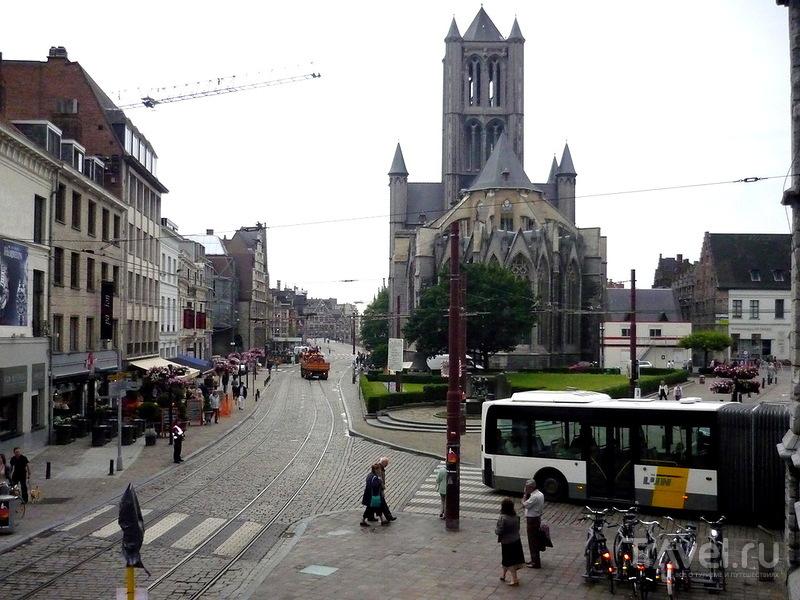 Церковь Св. Николая в Генте, Бельгия / Фото из Бельгии