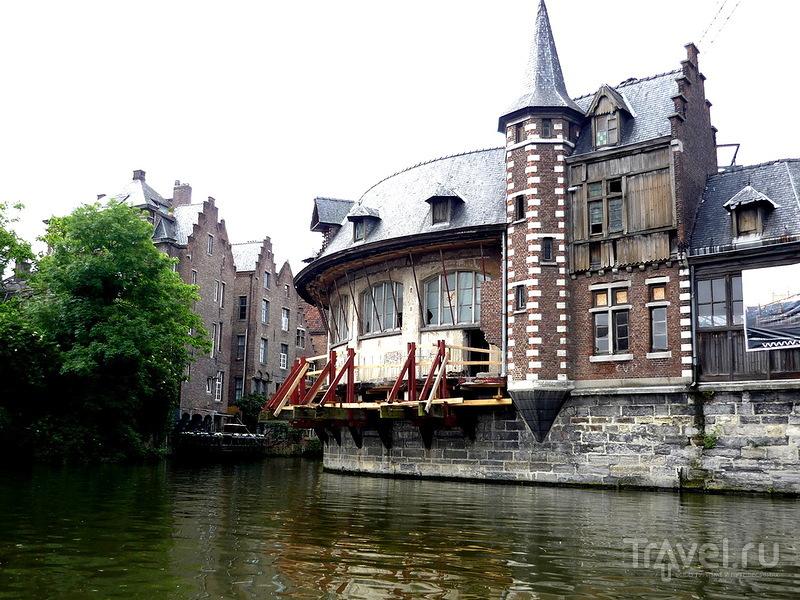 Старый рыбный рынок в Генте, Бельгия / Фото из Бельгии