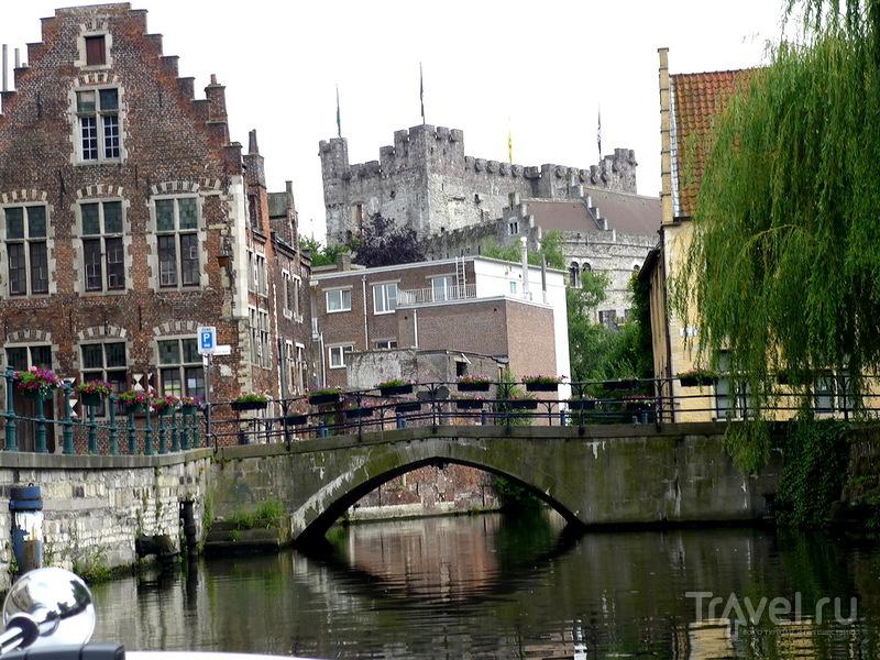 Графский замок Гравенстен в Генте, Бельгия / Фото из Бельгии