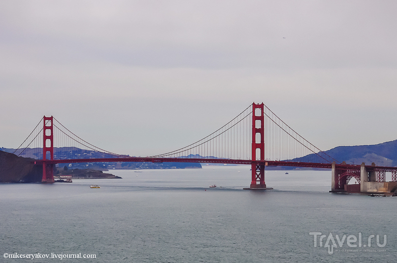 Мост Золотые ворота в Сан-Франциско, США / Фото из США