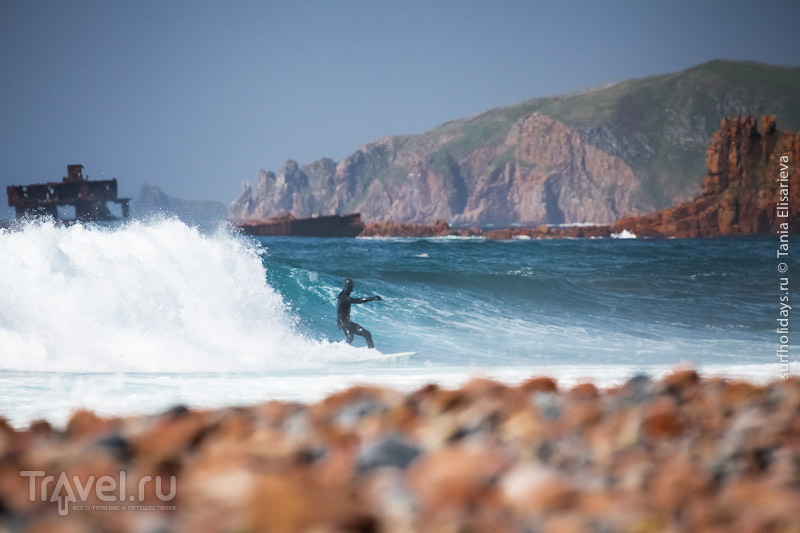 Серфинг на острове Рейнике / Фото из России