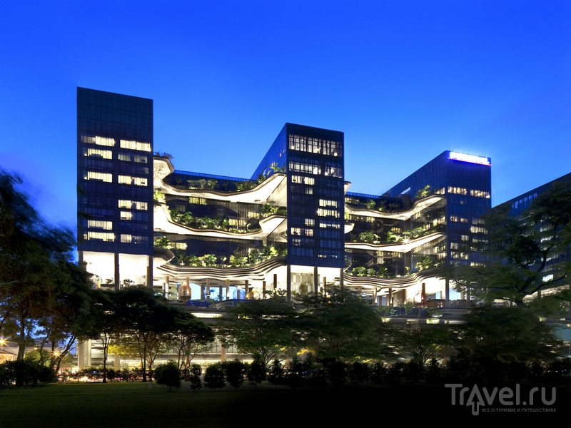 Отель Parkroyal on Pickering был открыт в январе 2013 года / Сингапур