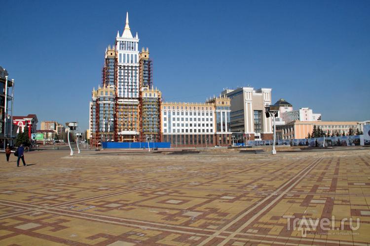 Площадь Тысячелетия в Саранске, Россия / Фото из России