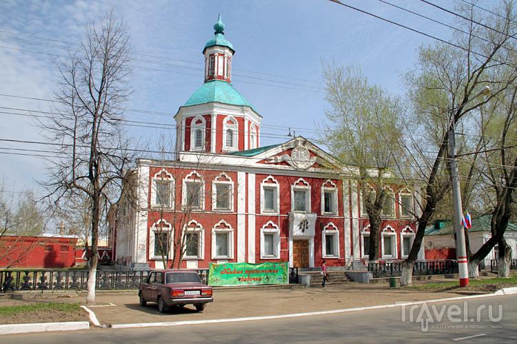 Бывшее здание Трехсвятительской церкви в Саранске, Россия / Фото из России