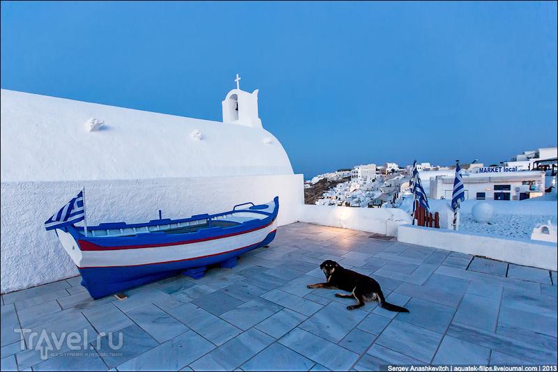 На острове Санторин, Греция / Фото из Греции