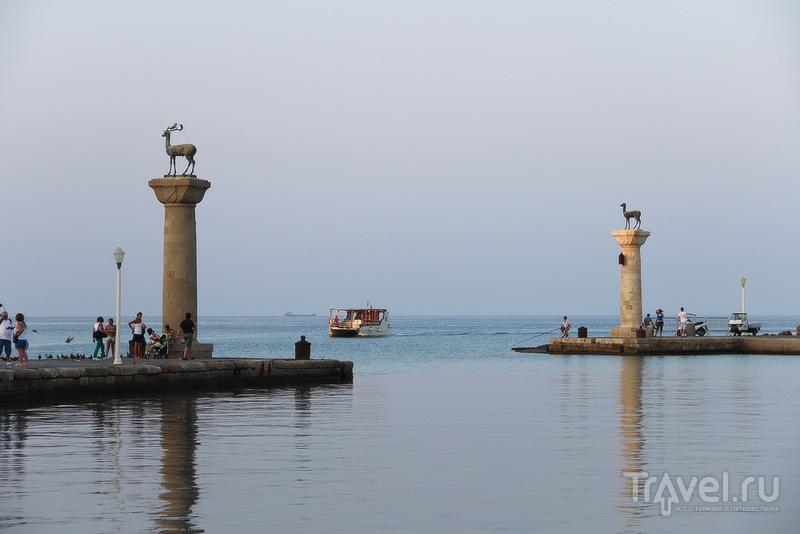 Жемчужина Эгейского моря - остров Родос / Фото из Греции