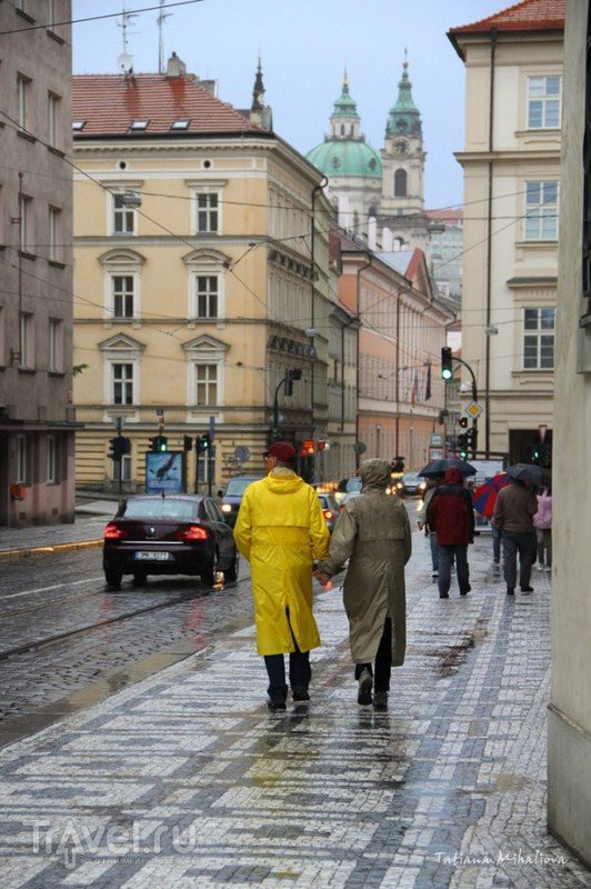 Наводнение в Праге / Чехия