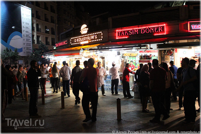 Стамбул. Знакомство с площадью Таксим / Турция
