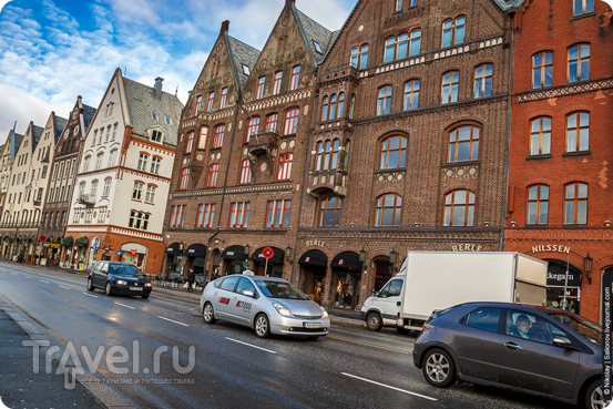 В городе Берген, Норвегия / Фото из Норвегии